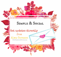 Simple_and_Social Newsletter Almu Corazon